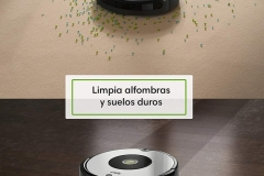 Roomba 605 alfombras